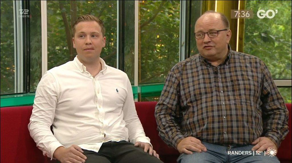 Scor jobbet til samtalen i Go'Morgen Danmark